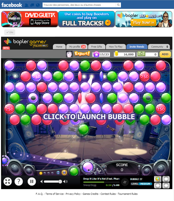 Bopler Games Bubble It