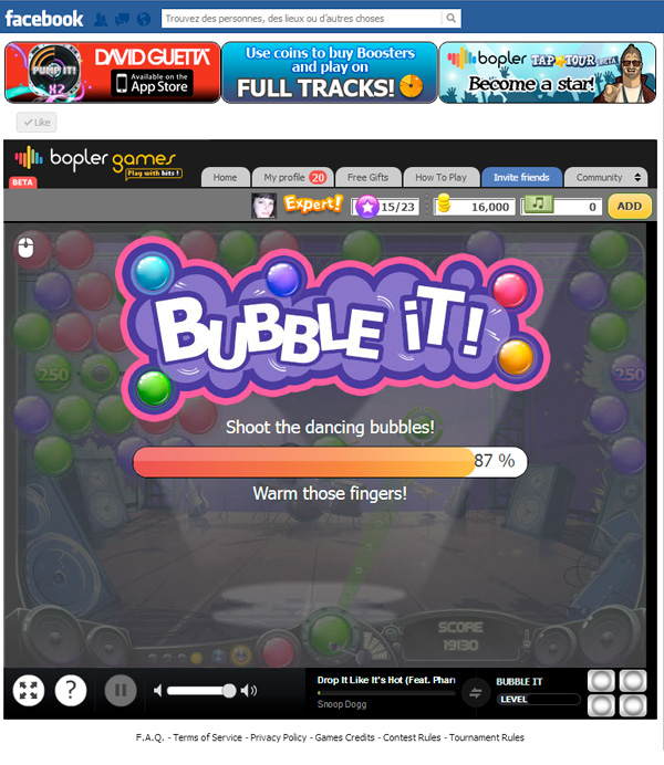 Bopler Games Bubble It Loading